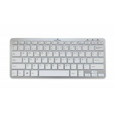 Bluestork BS-KB-MICRO-BT/SP: Teclado Bluetooth para iPad tablets Mac Windows