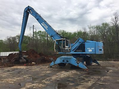 Fuchs Mhl360 With Grapple Loader Crane