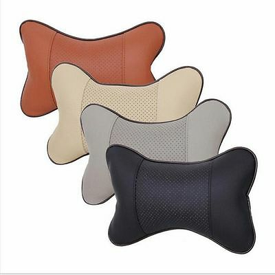 Car Seat Headrest Head Bone Pillow Pad Memory Foam Neck Rest Support Cushion