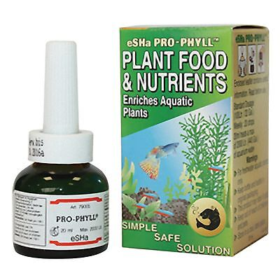 Esha Pro-Phyll 20ml Plant food & Nutrients Enriches Live Aquatic Plants Aquarium