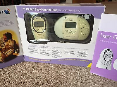 Bt Digital Baby Monitor Plus Carry Case Boxed Complete With Instructions