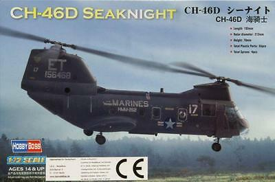 HobbyBoss 1/72 American CH-46 Sea Knight - HY87213  free shipping
