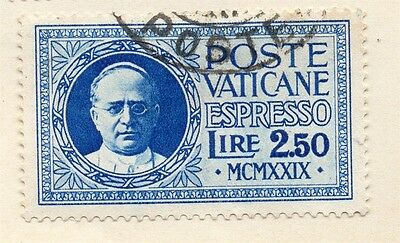 Vatican City Italy 1936 Early Issue Fine Used 2.50L. 149226