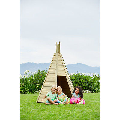 New ELC Boys and Girls Plum® Wooden Teepee Toy From 3 years