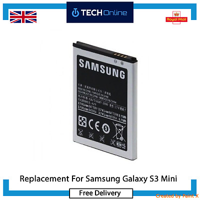 Replacement High Capacity Li-ion Battery For Samsung Galaxy S3 III Mini From UK