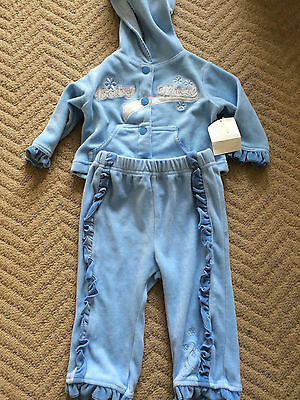 Baby boy blue tracksuit by Baby phat size 3-6 months