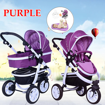 3 Color Newborn Child Baby Carriage Foldable Travel Stroller Buggy Pushchair UK
