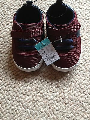 BNWT Next Baby Trainer Shoes 9-12 Months