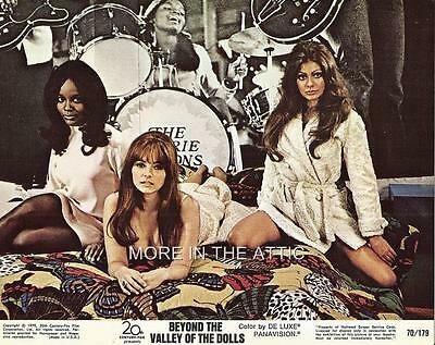 Russ Meyer Beyond The Valley Of The Dolls Set Of 8 Original Us Lobby Cards