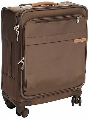 Briggs & Riley U121SPW-7 Baseline International Carry-On Wide Spinner Bag Oli...