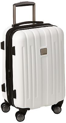 Calvin Klein Cortlandt 3.0 20-Inch Upright Carry-On Suitcase White One Size