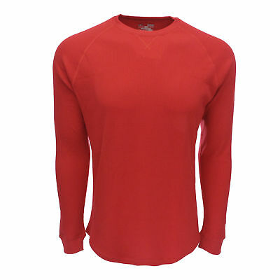 Under Armour Men's UA Thermal 2.0 Crew Top Red/Black M