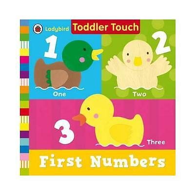 Ladybird Toddler Touch: First Numbers by Penguin Books Ltd (Board book, 2012)