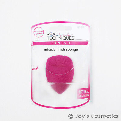 "1 REAL TECHNIQUES Miracle Finish Sponge  "" RT - 1487 ""  *Joy's cosmetics*"