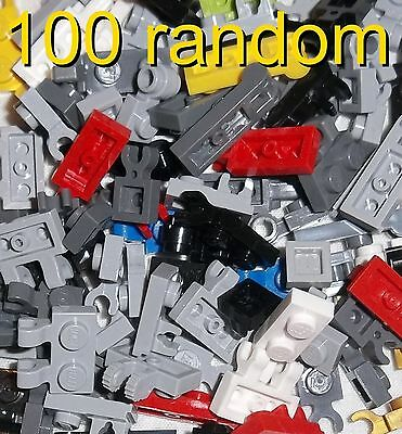 **lego Town City 100 Random Plates With A Clip **