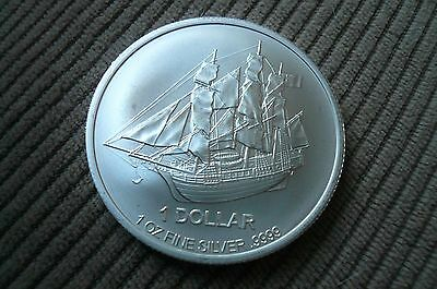 Lowest Price! 2017 Cook Islands 1 oz Silver Bounty Pirate Ship Coin Version 1