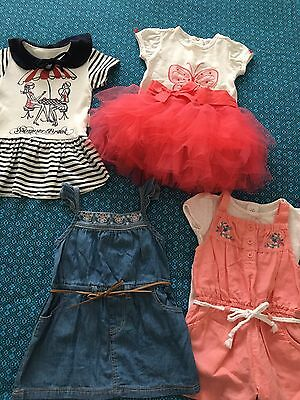 Baby Girls Summer / Party Clothes Size 6-12 Months