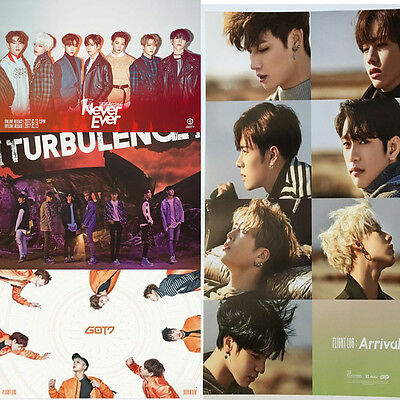 GOT7 KPOP Album Official Folded Poster