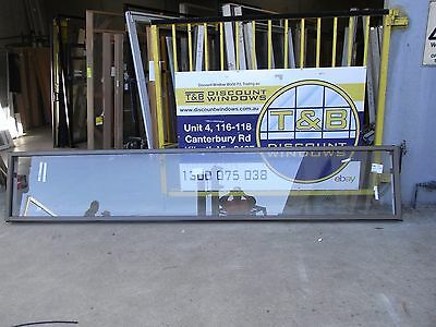 Aluminium Fixed window 0690 H X 3900 W (Item 2778/3) Jasper