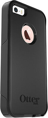 Otterbox Commuter Case Dual Layer Protection Hybrid Black Cover for iPhone 5S