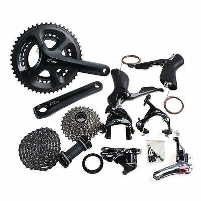 New Shimano 105 5800 Road 11-speed 50/34T 172.5mm Full Groupset