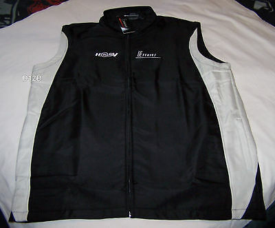 Holden Special Vehicles HSV E Series Mens Black Grey Embroidered Vest Size M New