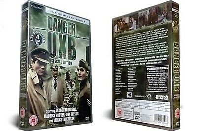 Danger UXB - The Complete Series  4-Disc Set     New & Sealed         Fast  Post