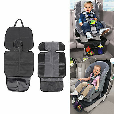 Children Baby Anti-Slip  Car Seat Cover Protector Eco-friendly PVC&Canvas Mat