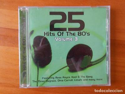 Cd 25 Hits Of The 80's - Volume 3 (1C)
