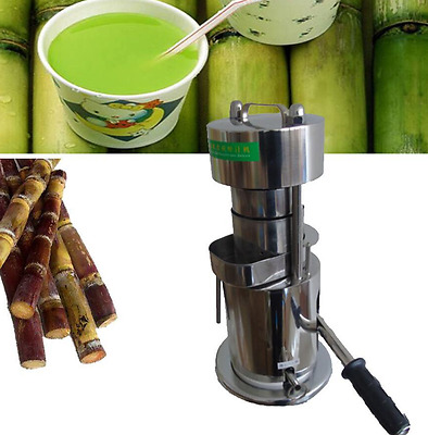 10T Hand Type Hydraulic Fruit Sugar Cane Juicer / Fruit Juice Extractor m
