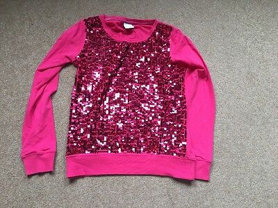 Next Girls Sequinned Jumper Age 11