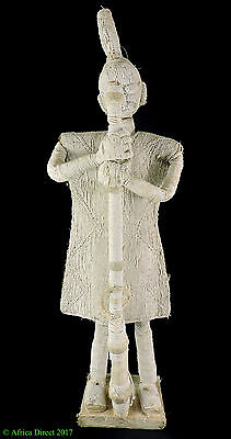 Yoruba Beaded Soldier Figure Nigeria African 31 Inch SALE WAS $295