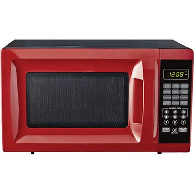 Mainstays 700W Output Microwave Oven RED