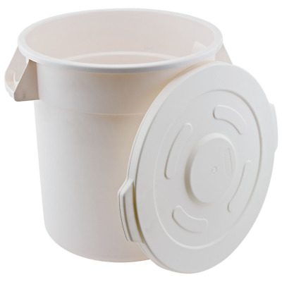 Winco FCW-32L, Lid for White Trash Can, 32gln, NSF