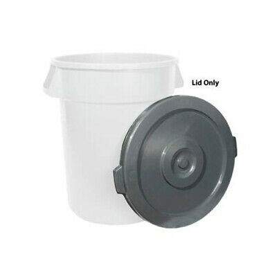 Winco PTCL-32, Lid for 32-Gallon Grey Trash Can