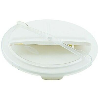 Winco FCW-32RC, Rotating Lid for White Container, 32gln, NSF