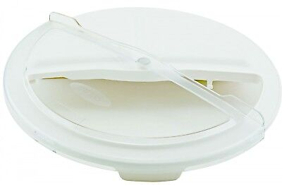 Winco FCW-10RC, Rotating Lid for White Container, 10gln, NSF