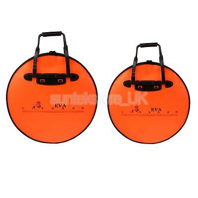 2Pcs Water Bag Fish Bucket Folding Waterproof Fishing Lure Baits Storage Bag