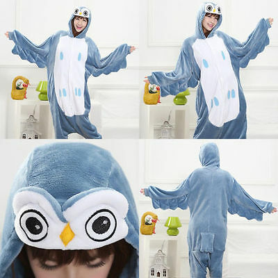 Animal Onesies Kids Adult Kigurumi Cosplay Costume Pyjamas Pajamas Sleepwear @