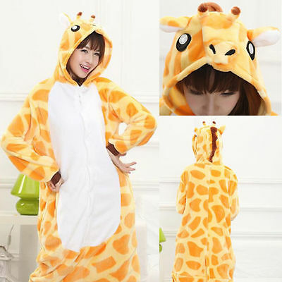 Animal Onesies Kids Adult Kigurumi Cosplay Costume Pyjamas Pajamas Sleepwear#