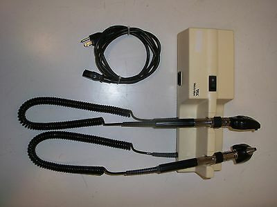 Welch Allyn 767 Wall Mount Transformer 11710 Opthalmoscope 25020A Otoscope Heads