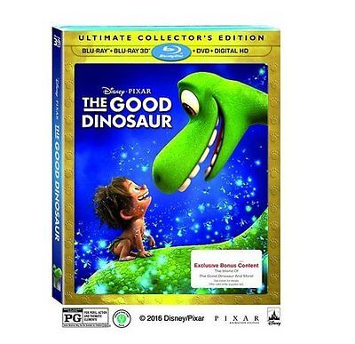 The Good Dinosaur - Exclusive Lenticular Cover and Bonus Content (3D + Blu-ray +