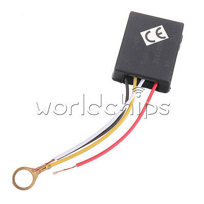AC 220V Table Light Parts On/off 1 Way Touch Control Sensor Bulb Lamp Switch