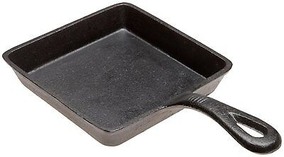 OLD MOUNTAIN 10106-OM, 5x0.75-Inch Cast Iron Square Skillet