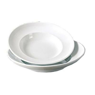 "Yanco PA-310, 18 Oz 10-1/2"" x 2"" Paris Bone White China Pasta Bowl,"