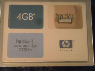 Hewlett-Packard C5706A -1PACK DDS1 DAT 4MM 9 4GB