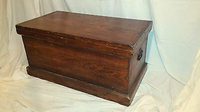 Vintage Antique Late 1800s/Early 1900s Sea Captain's Chest