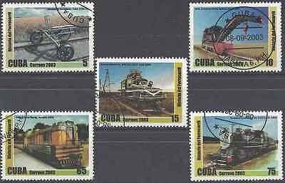 Timbres Trains 4097/4101 o lot 19879