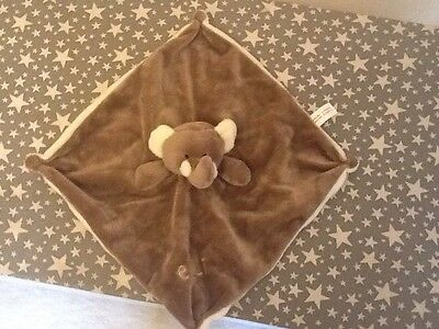 Baby Elephant Comforter With Rattle Head - BNWOT