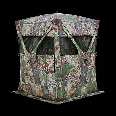 Barronett Men's Big Mike Super Tough Blind, One Size, Backwoods Camo BM276BW